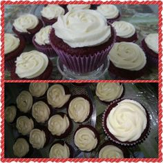 #tentacaoatelier #tentacaoatelierdegostosuras #cupcake #redvelvet #festa #delicia #gostosura Nosso novo cupcake: Red Velvet. Estou apaixonada!!!!❤❤