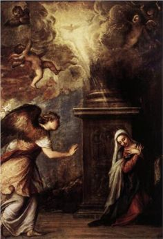 The Annunciation - Titian