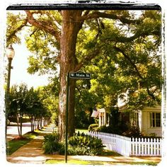 Olde Towne, Clinton MS. Cutest place, right across the street from campus.