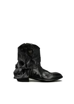 SAFA ŞAHİN skull boot