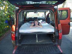 Customized Element Camper.
