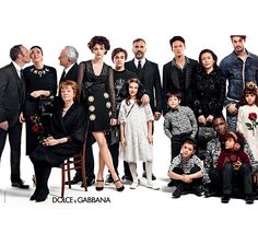 Dolce&Gabbana, kampania jesień zima 2015/16,