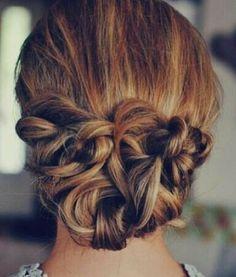 Cabelo, penteado,coque