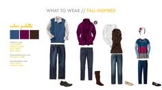 What to wear for fall family portraits. Family Portraits What To Wear, Fall Portraits, Christmas Portraits, Portrait Ideas, What To Wear Fall, What Should I Wear, How To Wear, Family Photo Colors, Family Picture Outfits