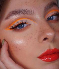 Makeup Eye Looks, Eye Makeup Art, Pretty Makeup, Skin Makeup, Eyeshadow Makeup, Weird Makeup, Beauty Makeup, Makeup Goals, Makeup Inspo