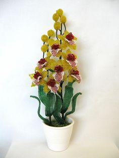 орхидея | biser.info - всё о бисере и бисерном творчестве
