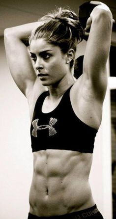weightlifting - completely admire her dedication and hard work.