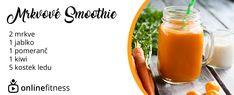 3 denní smoothie detox, který tě dostane zase do formy Kiwi, Healthy Drinks, Healthy Recipes, Smoothie Detox, Fruit Smoothies, Fresh, Bar, Food, Health Recipes