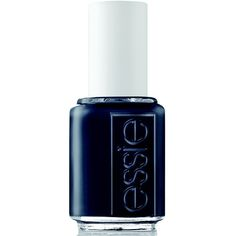 essie blues nail color, bobbing for baubles 0.46 fl oz (13.04 g) ($8.50) ❤ liked on Polyvore featuring beauty products, nail care, nail polish, nails, beauty, essie, makeup, blue nail polish, nail varnish and essie nail color