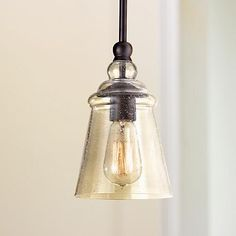 Seedy Gl And Warm Shade Tones Give This Acid Etched Mini Pendant Light An Look