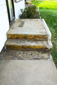 Removing Carpet from Cement Stairs
