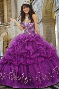 Preciosos Vestidos de Fiesta de 15 Años de varios colores : Vestidos para tu…