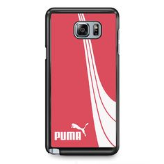 Pink PumaPhonecase Cover Case For Samsung Galaxy Note 2 Samsung Galaxy Note 3 Samsung Galaxy Note 4 Samsung Galaxy Note 5 Samsung Galaxy Note Edge