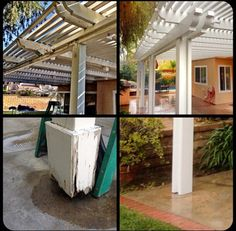 Let's start building #diy #alumawood #patiocover by : patiokitsdirect.com