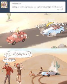 Weiss takes the wheel! Dc Anime, Rwby Anime, Rwby Fanart, Neon Katt, Rwby Jaune, Rwby Volume, Rwby Memes, Rwby Red, Rwby Characters