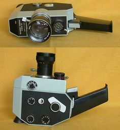 Soviets got it Vintage Video Camera, Popular Hobbies, Movie Camera, Video Film, Camera Photography, Vintage Movies, Binoculars, Technology, 3c