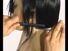 Vidal Sassoon ABC - A. Square Line - YouTube