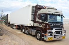 wob2007 by Roger Evans | Nice truck: an Scania road train | New Zealand? Australia?