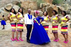 Parents of two Matsobane and Anna Kutu met in high school in Pedi Traditional Attire, Sepedi Traditional Dresses, African Fashion Traditional, Traditional Wedding Attire, African Traditional Wedding, Traditional Weddings, Traditional Cakes, African Wedding Attire, African Attire