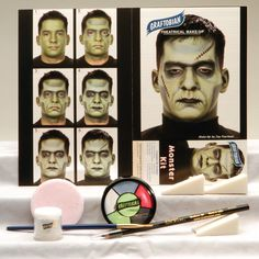 Frankenstein Moster Makeup Kit
