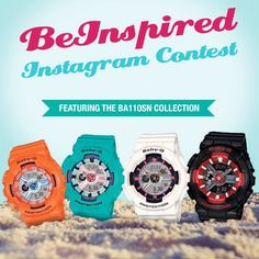 Join the #beinspiredchallenge #instagramcontest