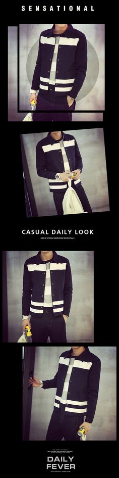 Mẫu hàng Áo khoác nam sọc trắng cổ điển giá rẻ Xem thêm tại http://dathangtaobao.vn/ao-khoac-nam-soc-trang-co-dien/