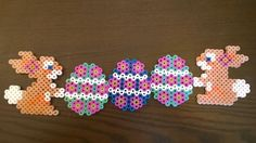 Easter perler beads by Yuri T.