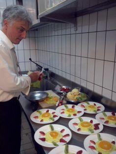 At work for dinner at hotel Zi' Teresa . Sorrento, Restaurant, Dinner, Ethnic Recipes, Food, Dining, Diner Restaurant, Food Dinners, Essen