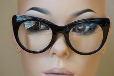 Style  80888 CLR Cat Eye Glasses, Eyeglasses, Eyewear, Diva, Lenses 6108bdceec9e