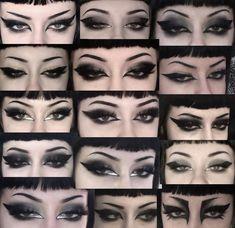 Punk Makeup, Dope Makeup, Grunge Makeup, Gothic Makeup, No Eyeliner Makeup, Pretty Makeup, Makeup Inspo, Makeup Inspiration, Beauty Makeup