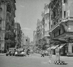 وسط البلد عام 1951  Cairo, #Egypt