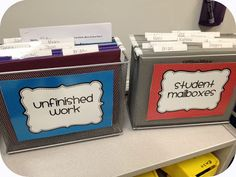 The Eager Teacher: Organization in the New Year  Great organization ideas for a special ed classroom