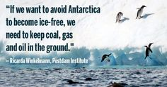 """If all the coal, gas and oil on Earth is extracted and burned, the Antarctic ice sheet will melt entirely, scientists warn in a new """"blockbuster"""" study published"""