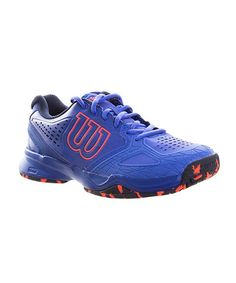 new concept a3245 76ae6 ZAPATILLAS WILSON KAOS COMPOSITE WOMAN AZUL Y CORAL Wilson Shoes,  Composition, Blue Slippers,