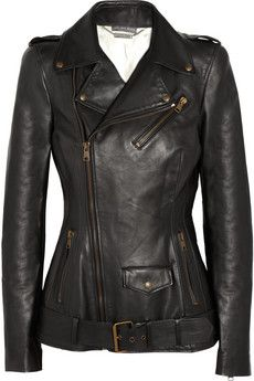 I wish I may, I wish...Leather jacket that actually hits the hips...