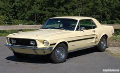 1968 Ford Mustang California Special Coupe- dream car