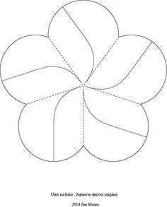 20140107 The crease pattern of 'Ume no hana' | Flickr - Photo Sharing!