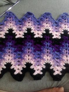 Lacy chevron. As seen on braking amish/ return to amish.