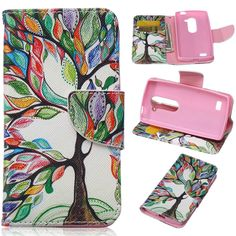 LG Leon Case,LG Tribute 2 Case,DIOS CASE(TM) Magnet Clasp Flap Closure PU Synthetic Leather Stand Folio Flip with Card Slot Wallet Shell Cover for LG Leon C40/Tribute 2/LG H340 (Life Tree) * Find out more about the great product at the image link.