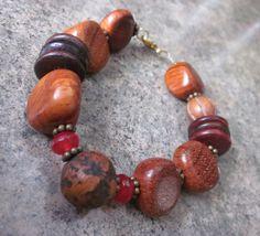 Beaded Bracelet Bodhi Seed Wood