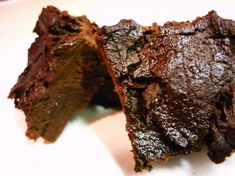 So, what's the deal with these brownies? The reason for using the black beans is not only to make these gluten-free, but also to add nutritional benefits (such as extra protein) as well as lowering the fat/calorie content. These brownies are also high in fiber, making them an ideal treat to munch on throughout the day. Don't shy away from these just because they are made with beans. They are husband-approved.