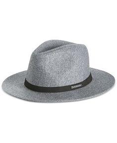5d34b41206640a Sean John Men's Felt Wide Brim Fedora Men - Hats, Gloves & Scarves - Macy's