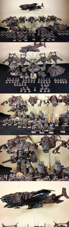 Current Army Picture - Astra Militarum, Militarum Tempestus Scions, Elysian Drop Troops: Air Cavalry || Regiment: Lions of Leander VI || Warhammer 40k
