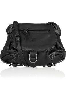 Jerome Dreyfuss Twee Mini leather shoulder bag NET-A-PORTER.COM - StyleSays
