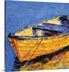 Leslie Saeta Premium Thick-Wrap Canvas Wall Art Print entitled Floating Along, None