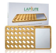 Laptop Lap Desk Bamboo With Aluminum Mouse Pad & Cell Phone/tablet Dock Small P for sale online Iphone Macbook, Macbook Air Pro, Ipad Accessories, Desktop Accessories, Laptop Cooling Pad, Desk Tray, Cell Phone Stand, Thing 1, Lap Desk