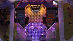 Wiz Creations The Wiz, Movie Theater, Jukebox, Sim, Cinema, Neon, Movies, Neon Colors, Neon Tetra