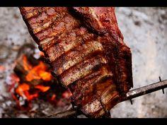 Costillar de Cerdo al Asador con Stone Giant - Receta de Locos X el Asado - YouTube Carne Asada, Rib Recipes, Wok, Steak, Grilling, Beef, Llamas, Country Style, Youtube