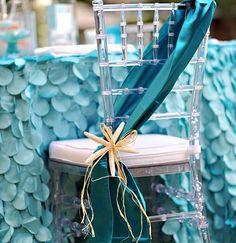Perfect for a beach wedding! #beach #wedding #turquoise #starfish
