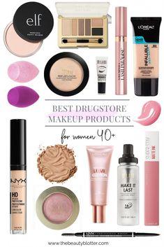 Makeup Tutorial Over 40 Products Drugstore Makeup Dupes, Makeup Swatches, Best Highlighter Makeup, Mac Eyeshadow Dupes, Skincare Dupes, Lipstick Dupes, Makeup Primer, Makeup Brushes, Beauty Make-up